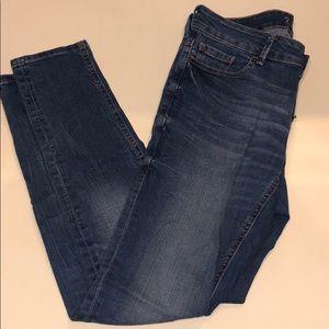 Zara Basic Z1975 Mid Rise Skinny Jeans